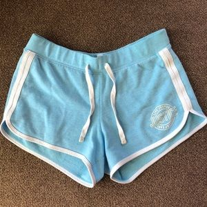 Justice Active blue shorts